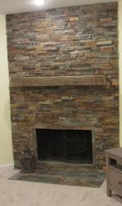 Home Depot Wall Tile Fireplace by Best 25 Ledger Stone Fireplace Ideas On Pinterest Stone