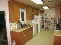 Image Of Galley Kitchen Designs Vintage
