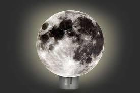 Lovely Lunar Illuminators Moon Night Light