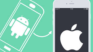 Transferring phone contacts from Android to iPhone
