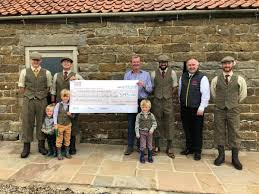 100 Gamekeepers Fly High In The Fundraising Stakes The Northern Echo