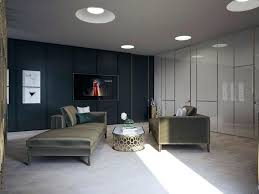 Home Designs Navy Blue Accent Wall Luxurious Mid Century Bedroom Ideas Living Room In G Paint