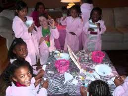Spa Parties For Girls Party Themewmv