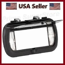 New LED Lighted Black Clip On Sun Visor/Vanity Mirror Car/Automobile ... Pics Of Exterior Sun Visors Ford Truck Enthusiasts Forums Lund Sun Visor Install 1994 F250 Youtube On Truck Customer Jobs Pinterest Visors Holst Parts The Drivers See Through Visor Hammacher Schlemmer For A 2007 Hyundai Santa Fe Best Resource Kenworth Sunvisors Amazoncom Jsp12357 Chevrolet Silveradogmc Sierra Cab Vehicles Car Carsjpcom