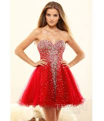 red sleeveless high neck lace keyhole short dress for prom 2017