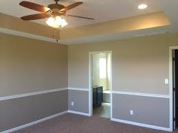 Dining Room Paint Ideas With Chair Rail Two Tone Rooms Bedroom Club