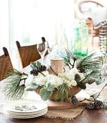 Christmas Dining Table Centerpieces Dinner Decorations Lettuce