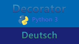 Python Decorators Simple Example by Python Tutorial Für Fortgeschrittene Decorator Youtube