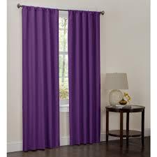 Navy Blue Chevron Curtains Walmart by Covina Purple Shower Curtain Walmart Com