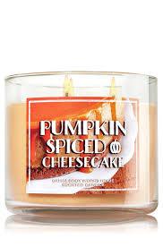 Pumpkin Waffle Candle by Amazon Com Bath U0026 Body Works Home Pumpkin Spiced Cheesecake