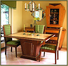 Cool Art Deco Dining Room Set 88 For Chairs With Arms New Ideas Furniture