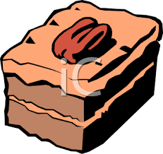 Clipart Picture A Piece German Chocolate Cake