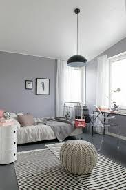 chambre fille grise la chambre ado fille 75 idées de décoration archzine fr