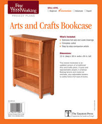 Arts And Crafts Bookcase Project Plan