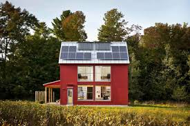 100 Housedesign Off The Grid A Compact Passive House Design In Maine