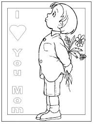 Happy Mothers Day Coloring Pages For Kids 20