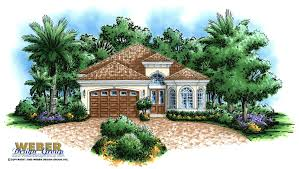 100 Narrow Lot Home Tuscan House Plan Mediterranean Style Floor Plan For