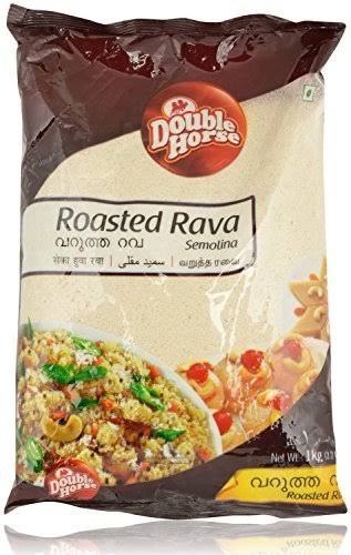Double Horse Roasted Rava - 1kg