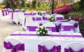 Purple Garden Wedding Ideas