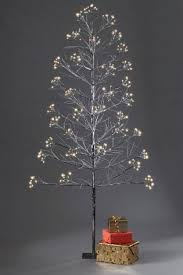 Neoteric Pre Lit Twig Christmas Tree Outdoor Trees Artificial Primitive 5