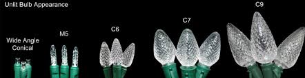 sweet inspiration c7 c9 lights difference between and c6