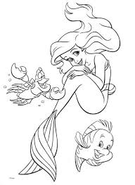 Best Princess Ariel Coloring Pages 37 For Your Free Book With