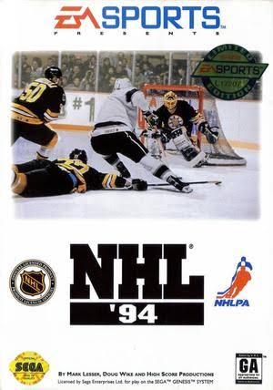 EA Sports NHL 94 [Sega Genesis Game]