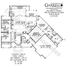 08142 Hot Springs Cottage Craftsman House Plans Ranch
