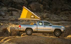 Off-Road Ready: Ultralight, Pop-Up Go-Fast Truck Campers | InsideHook