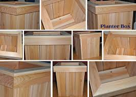 build wooden planter box plans diy free download military scroll