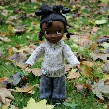 OG DOLL MAYLEE ASIAN W PRINTED PANTS 18 INCH