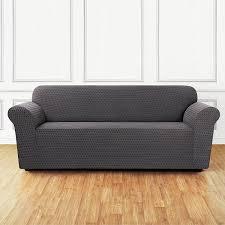 amazon com sure fit stretch sonya 1 piece sofa slipcover