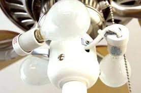 install or replace a ceiling fan regarding ceiling fan light bulb