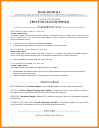 8 truck driver resume examples