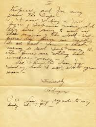 Ideas Of Letter From World War 2 Tfc History Lovely Letters