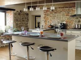 cr r un ilot central cuisine cuisine en u avec ilot central coin repas 3 newsindo co