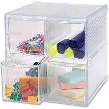 Desk Drawer Organizer Walmart by Sparco Removable Storage Drawer Organizer Clear Walmart Com