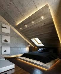 moderne schlafzimmer einrichtung und lichtgestaltung mit