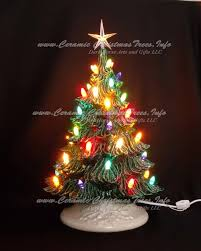 Clear Bulbs For Ceramic Christmas Tree by Ceramic Christmas Tree Winter Wonderland 19 Inches Ceramic