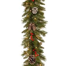 Grandin Road White Christmas Tree by 10 Best Christmas Garland Ideas For 2017 Artificial Fabric