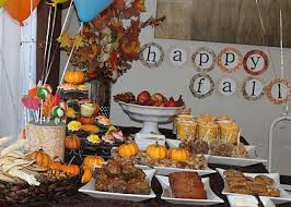 Fall Sweets Table Hmm Maybe If We Do A Housewarming Party