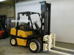 100 Yale Lift Trucks 2006 6000 Lb Capacity Forklift Truck Pneumatic Tire Clear