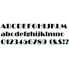deco typography history 10 awesome deco fonts where to find them