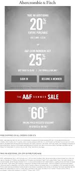 Abercrombie & Fitch Coupons - 20% Off Everything At Abercrombie Survey 10 Off Af Guideline At Tellanf Portal Candlemakingcom Fgrance Discounts Kids Coupons Appliance Warehouse Coupon Code Birthday September 2018 Whosale Promo For Af Finish Line Phone Orders Gap Outlet Groupon Universal Orlando Fitch Boys Pro Soccer Voucher Coupon Code Archives Coupons For Your Family Express February 122 New Products Hollister Usa Online Top Punto Medio Noticias Pacsun 2019