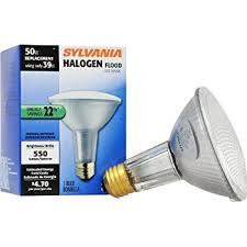 sylvania 14768 75 watt par30 wide flood neck halogen light