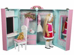 The Queen's Treasures Doll Clothes Storage Trunk For 18