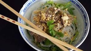 cuisine vietnamienne bo bun recette de bo bun de la cuisine vietnamienne recette