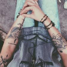 Tattoo Grunge And Hipster Image