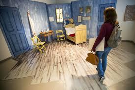 UNL art students convert Van Gogh s Bedroom to study lounge