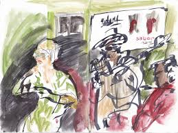 Paint Nite El Patio Fremont Ca by Jazz In Ezcaray 1 Glamourous Dinner Wild Sketches Urban Sketchers